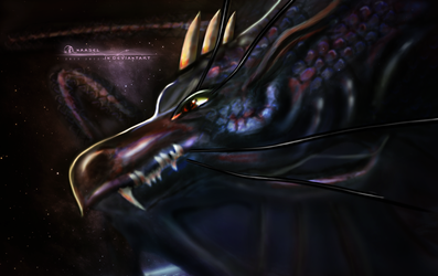 Dragon by anaasel