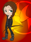 Girl on Fire by SonicHearts
