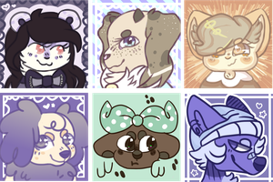 Icon Batch 1 by WhatTheFwoof