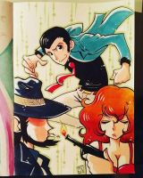 Lupin III new series by gravetown