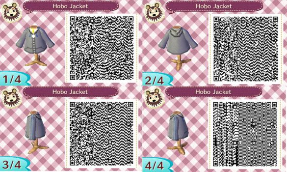Hobo Jacket ACNL by inunokanojo