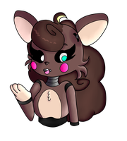 Cute Animatronic Ariana by SquirrellyQueen