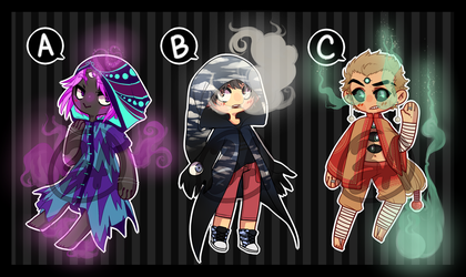 Smoky Cloaked Adopts [CLOSED] by ZebbsAdopts