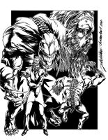 The Peacemakers: Grendel by jakebilbao
