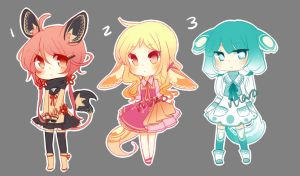 Lacies: Adoptables 5 Flat Rate [CLOSED] by niaro