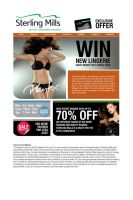 email newsletter by GWhite83