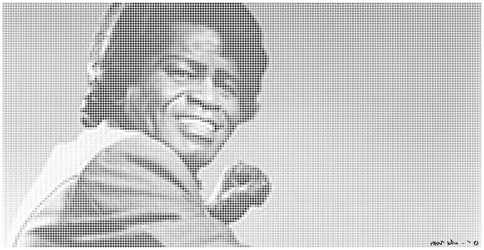 James Brown dotted by FlyinLudo