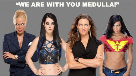 WWE Divas As Mind Maidens  by The-Mind-Controller