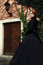 Mylady is watching you (early spring in victorian) by MaladiaNocturna