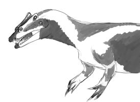 Theropod by Spikeheila