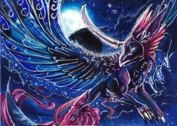 ACEO: Mistress-of-air by Amadoodles