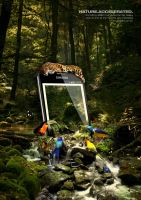 Nature Accelerated - Samsung Galaxy Note by squiffythewombat