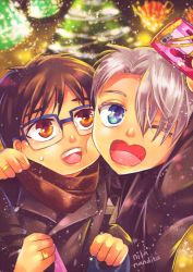 Merry Christmas and HBD, Victor. by NilaNandita