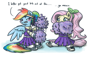 Cheerleaders by King-Kakapo