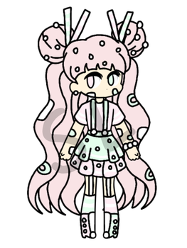 {CLOSED!/CHEAP AUCTION} - Cute Pastel Girl by CheapClothesAdopts