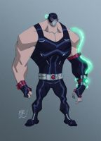 Bane Re-Design by EricGuzman
