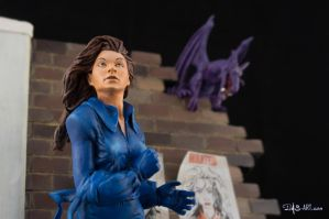 [Custom creation #15] Kitty Pryde diorama - 011 by DasArt