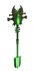 Necron Staff by Seothen