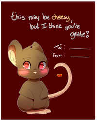 Transformice Valentine's Card by Saahlevy
