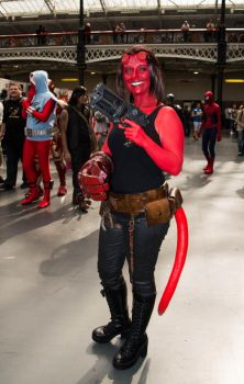 LFCC July 2016 Hell Girl from Hell Boy by DELZDEV