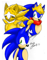 The Three Sides of Sonic by SonicRemix