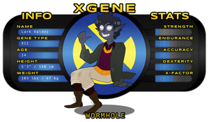 x gene: wormhole by twooost