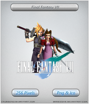Final Fantasy VII - Icon by Crussong