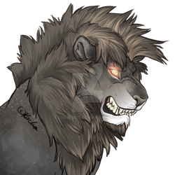 Feral Commission #2 by lioness17