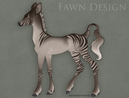 Aybek x Lucine | Fawn Design by Cactus-sis