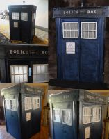 the tardis by Theinkcat