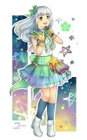 Commission: AKB0048 Tochi by kariavalon
