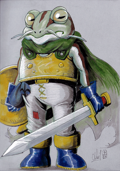 Frog (Chrono Trigger) by Beuzer0