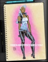 80's Storm Fashion by MATT-A-NASHI