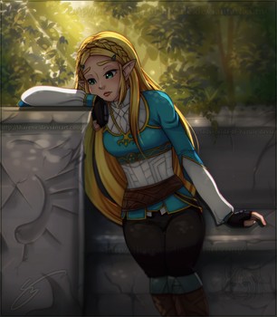 Collab: Deep Reflections by Lady-Zelda-of-Hyrule