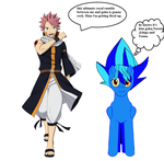 natsu's thoughts on the Ultimate warrior match by brandonking2013