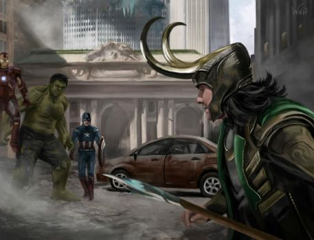 The Avengers by White-Night-56