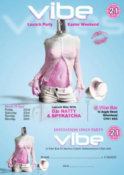 vibe flyer by BLACC360