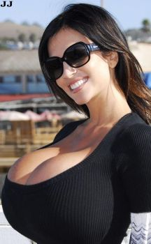 Denise Milani Closeup by JimmyJacks99