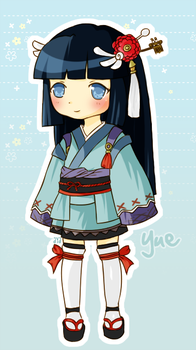Rune Factory 2 - Yue by cassyn