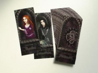 Commission: Prints of bookmarks for Katanga by Samantha-dragon