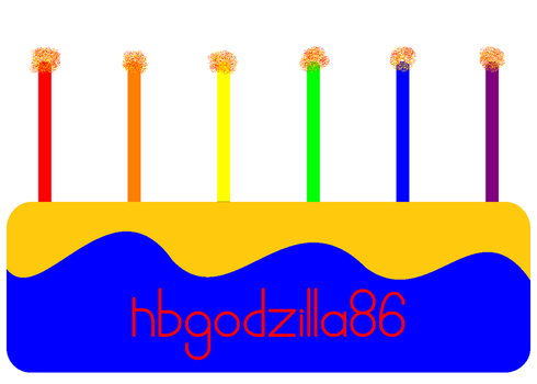 Happy B-day ''nbgodzilla86'' 4 VOTE by NicLove