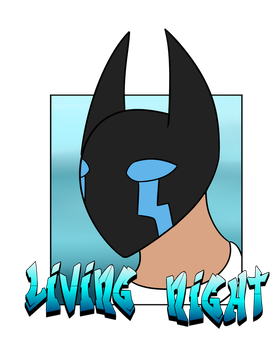 CO-Living night simple badge by DRD-FunTime