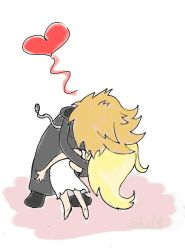 Roxas and Namine' by EMShelley