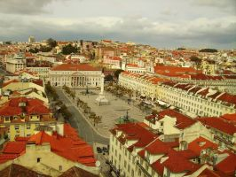 lisbon_view from the top by zed29