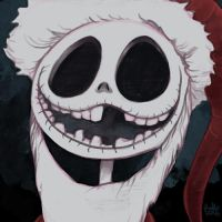 Daily Sketches Jack Skellington by fedde