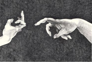 The Creation Of Adam by anchica