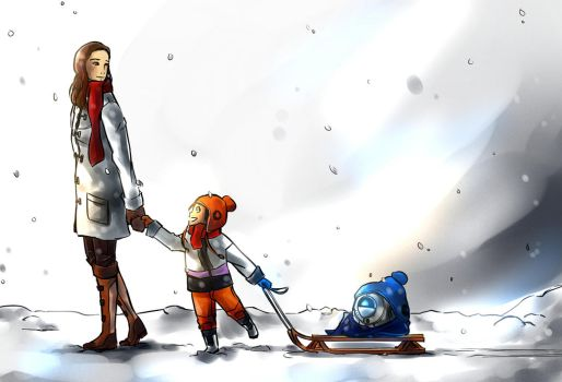 Snow Day (Portal Secret Santa 2013 gift) by did-you-reboot