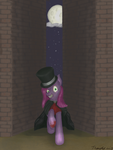 Mss. Pie in the night by TurquoiseThought