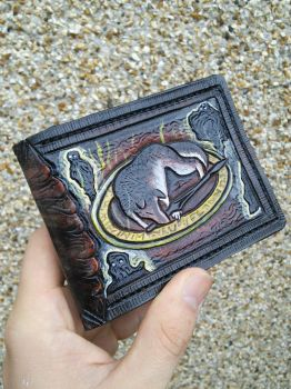 Darksouls Sif wallet by Bubblypies