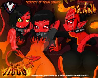 Hotter than Hell - Summer from Hell - Beach Devils by PlayboyVampire